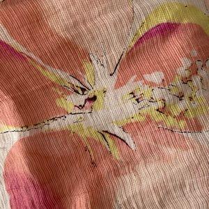 LOFT Skirts - Loft linen blend floral skirt
